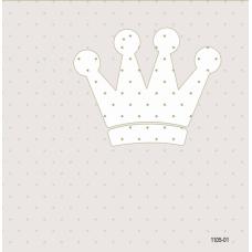 1105-01 Tac Desenli Duvar Kağıdı 10 m2