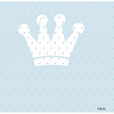 1105-02 Mavi Tac Desenli Duvar Kağıdı 10 m2
