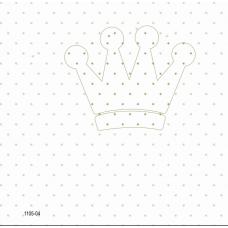 1105-04 Krem Tac Desenli Duvar Kağıdı 10 m2