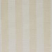 17256 Çizgili Bej Beyaz Desenli Duvar Kağıdı
