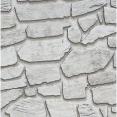 17305 3D Gri Kaya Taşı Desenli Duvar Kağıdı