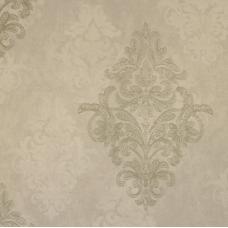 18156 Gri Eskitme Damask Desenli Duvar Kağıdı